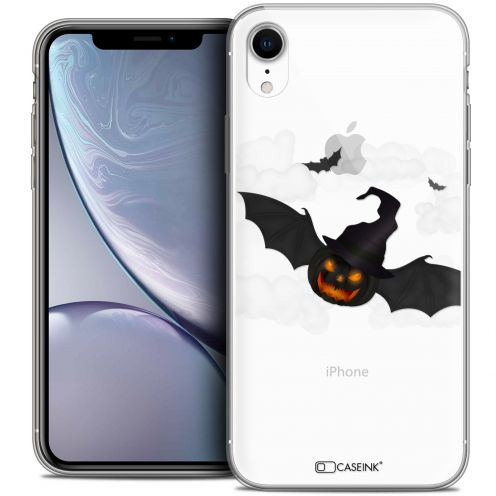 "Coque Crystal Gel Apple iPhone Xr (6.1"") Extra Fine Halloween - Chauve Citrouille"