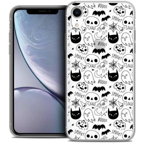 "Coque Crystal Gel Apple iPhone Xr (6.1"") Extra Fine Halloween - Spooky"