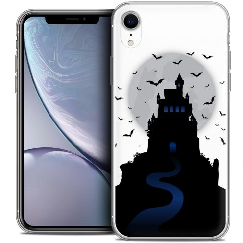 "Coque Crystal Gel Apple iPhone Xr (6.1"") Extra Fine Halloween - Castle Nightmare"