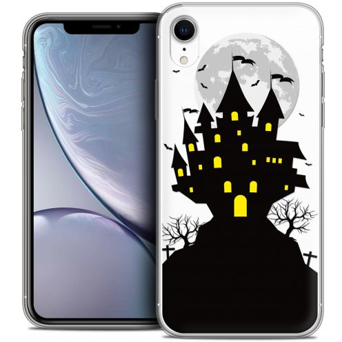 "Coque Crystal Gel Apple iPhone Xr (6.1"") Extra Fine Halloween - Castle Scream"