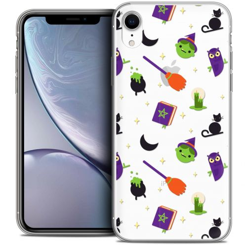 """Coque Crystal Gel Apple iPhone Xr (6.1"""") Extra Fine Halloween - Witch Potter"""