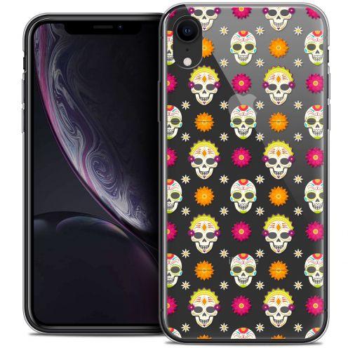 "Coque Crystal Gel Apple iPhone Xr (6.1"") Extra Fine Halloween - Skull Halloween"