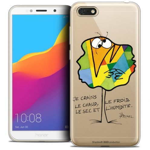 """Coque Gel Huawei Y5 2018 (5.4"""") Extra Fine Les Shadoks® - Chaud ou Froid"""