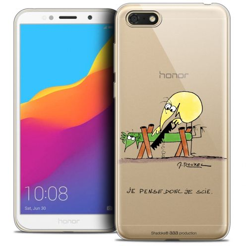 """Coque Gel Huawei Y5 2018 (5.4"""") Extra Fine Les Shadoks® - Je pense Donc"""