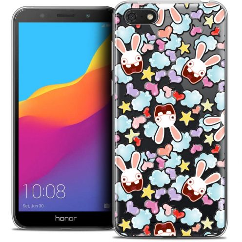 """Coque Gel Huawei Y5 2018 (5.4"""") Extra Fine Lapins Crétins™ - Love Pattern"""