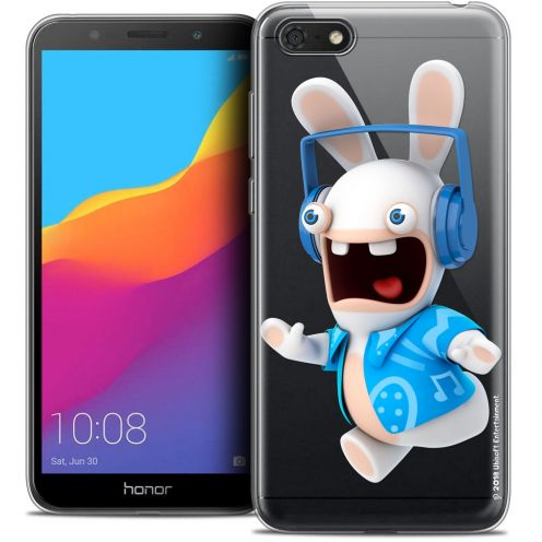 """Coque Gel Huawei Y5 2018 (5.4"""") Extra Fine Lapins Crétins™ - Techno Lapin"""