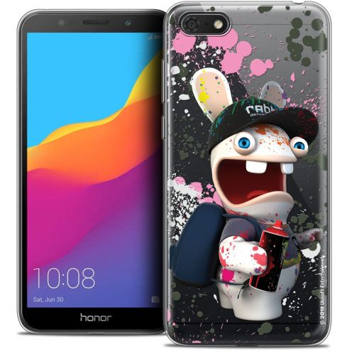 """Coque Gel Huawei Y5 2018 (5.4"""") Extra Fine Lapins Crétins™ - Painter"""