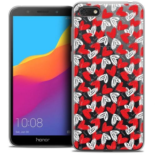"""Coque Crystal Gel Huawei Y5 2018 (5.4"""") Extra Fine Love - With Love"""