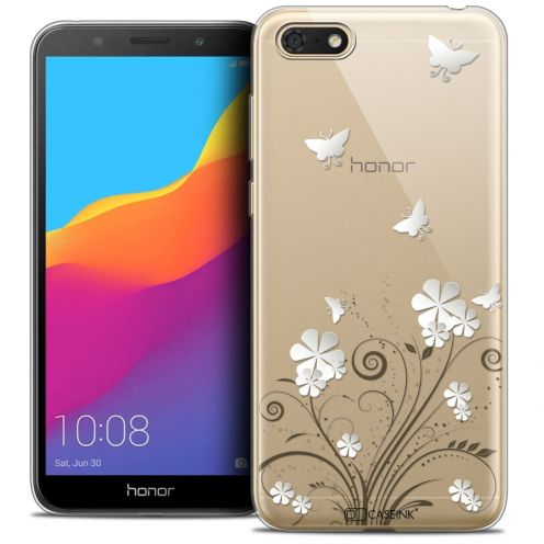 """Coque Crystal Gel Huawei Y5 2018 (5.4"""") Extra Fine Summer - Papillons"""