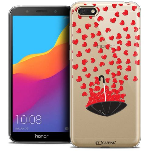 """Coque Crystal Gel Huawei Y5 2018 (5.4"""") Extra Fine Love - Parapluie d'Amour"""