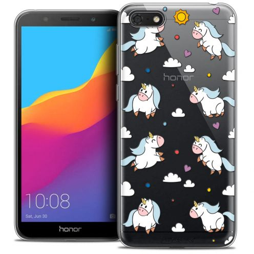 "Coque Crystal Gel Huawei Y5 2018 (5.4"") Extra Fine Fantasia - Licorne In the Sky"