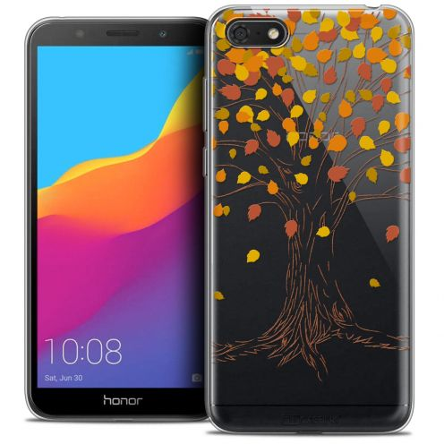 "Coque Crystal Gel Huawei Y5 2018 (5.4"") Extra Fine Autumn 16 - Tree"