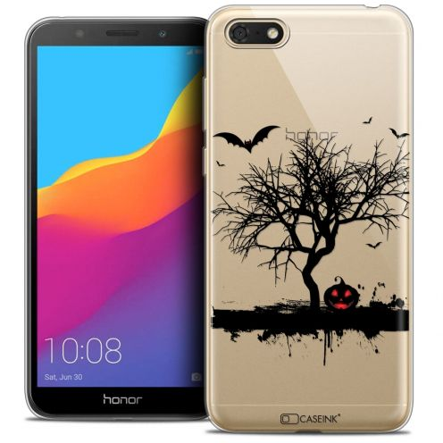 "Coque Crystal Gel Huawei Y5 2018 (5.4"") Extra Fine Halloween - Devil's Tree"