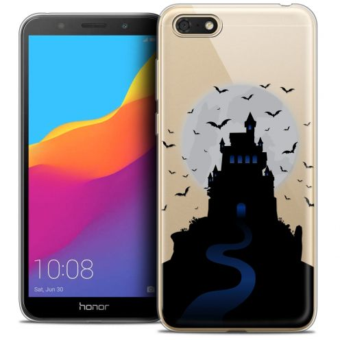 "Coque Crystal Gel Huawei Y5 2018 (5.4"") Extra Fine Halloween - Castle Nightmare"