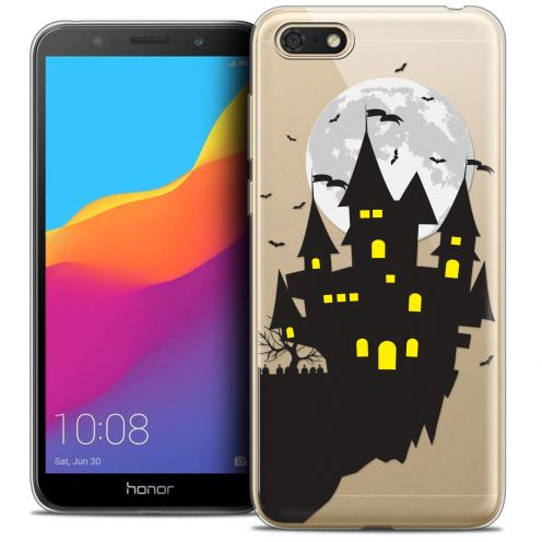"Coque Crystal Gel Huawei Y5 2018 (5.4"") Extra Fine Halloween - Castle Dream"