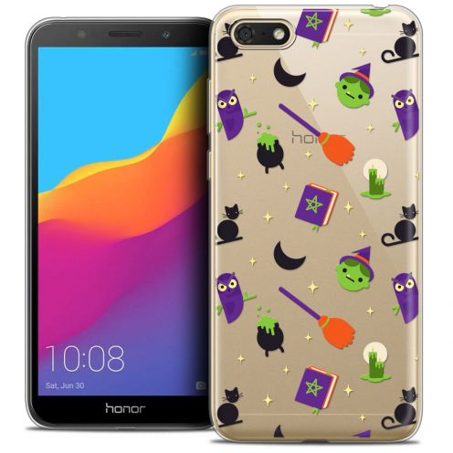 "Coque Crystal Gel Huawei Y5 2018 (5.4"") Extra Fine Halloween - Witch Potter"