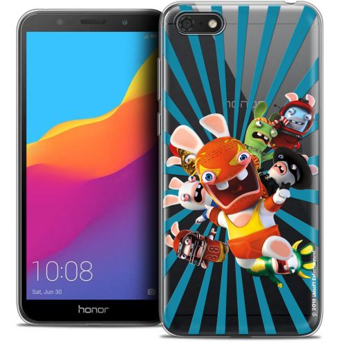 "Coque Gel Honor 7S (5.45"") Extra Fine Lapins Crétins™ - Super Heros"