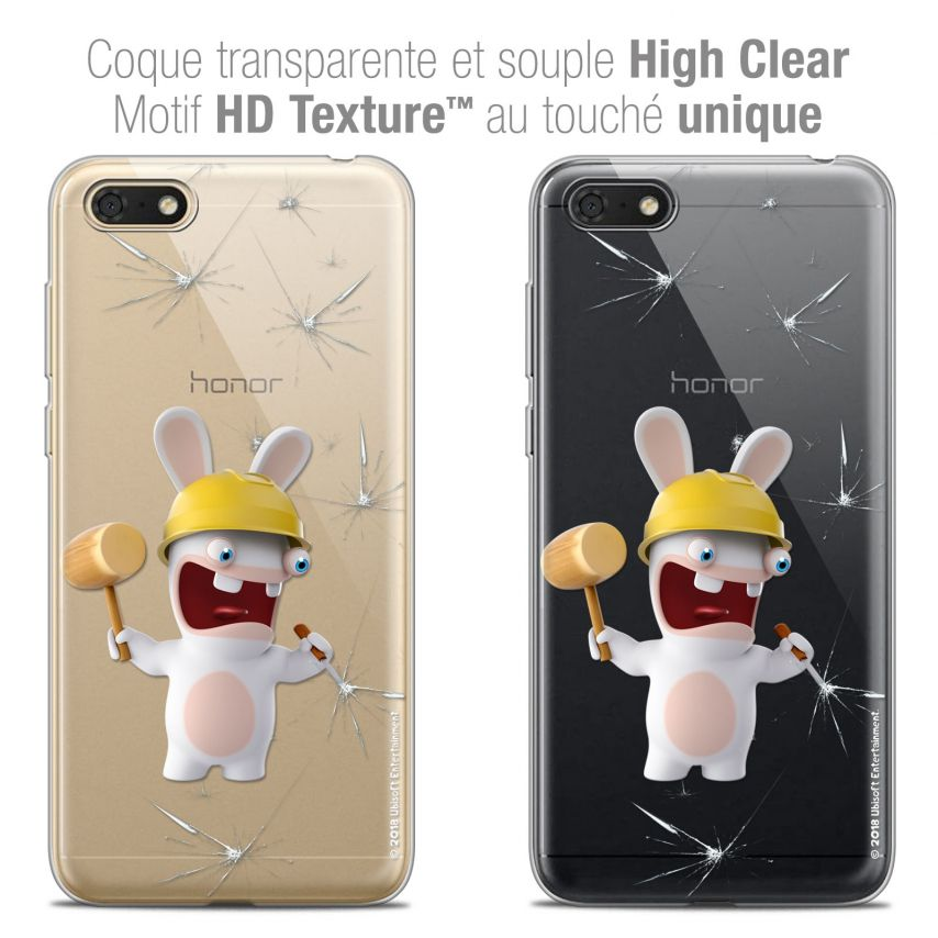 "Coque Gel Honor 7S (5.45"") Extra Fine Lapins Crétins™ - Breaker"