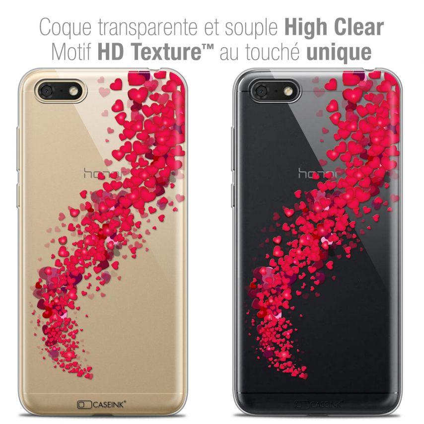 """Coque Crystal Gel Honor 7S (5.45"""") Extra Fine Love - Tornado"""