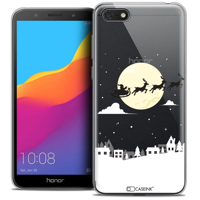 """Coque Crystal Gel Honor 7S (5.45"""") Extra Fine Noël 2017 - Flying Stanta"""