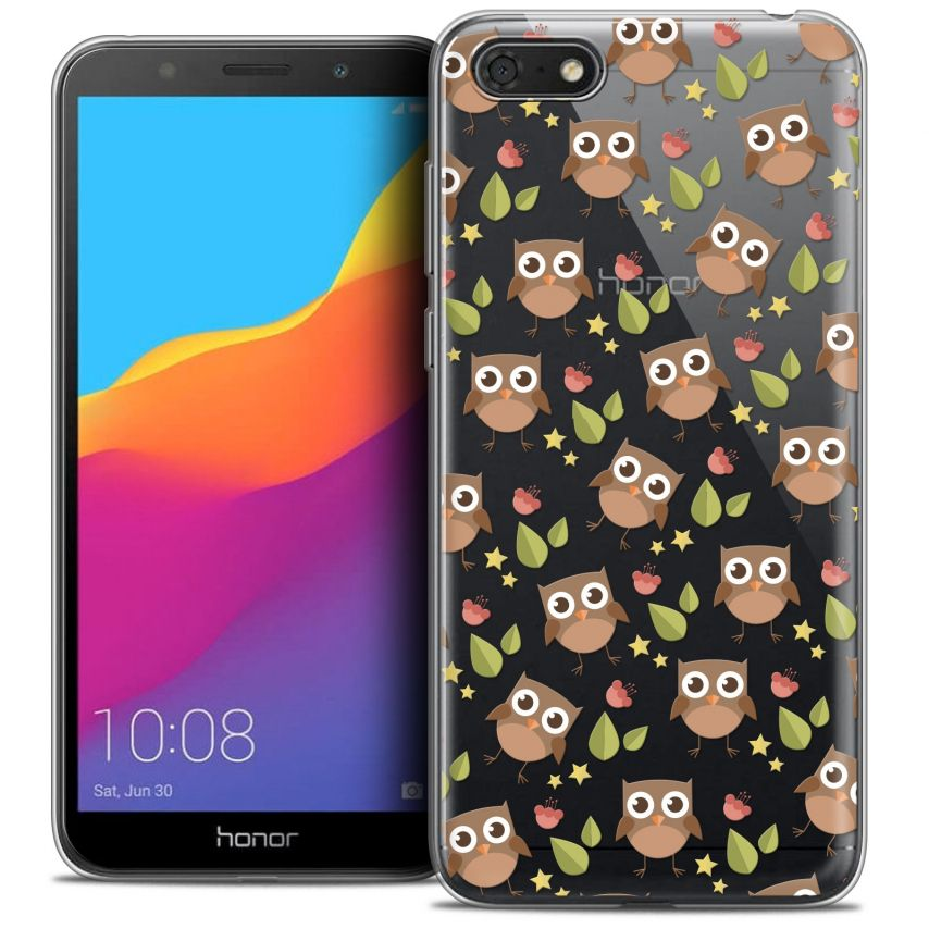 "Coque Crystal Gel Honor 7S (5.45"") Extra Fine Summer - Hibou"