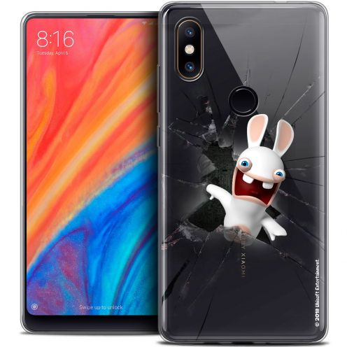 "Coque Gel Xiaomi Mi Mix 2S (5.99"") Extra Fine Lapins Crétins™ - Breaking Glass"