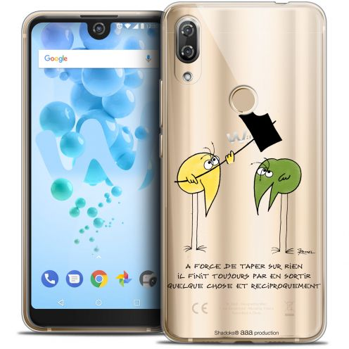 """Coque Gel Wiko View 2 PRO (6.0"""") Extra Fine Les Shadoks® - A Force"""