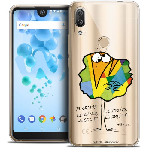 """Coque Gel Wiko View 2 PRO (6.0"""") Extra Fine Les Shadoks® - Chaud ou Froid"""