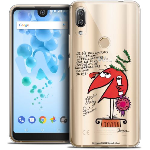 """Coque Gel Wiko View 2 PRO (6.0"""") Extra Fine Les Shadoks® - Intelligent"""
