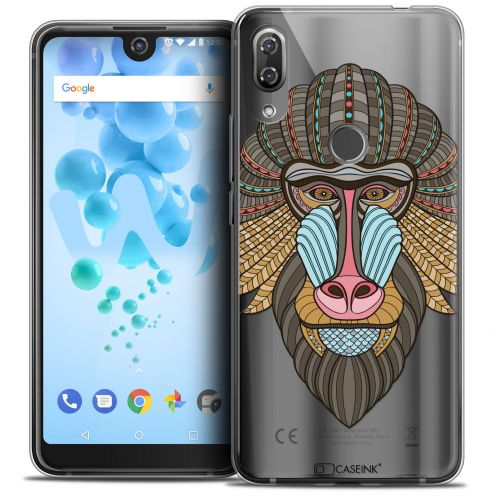 "Coque Crystal Gel Wiko View 2 PRO (6.0"") Extra Fine Summer - Babouin"