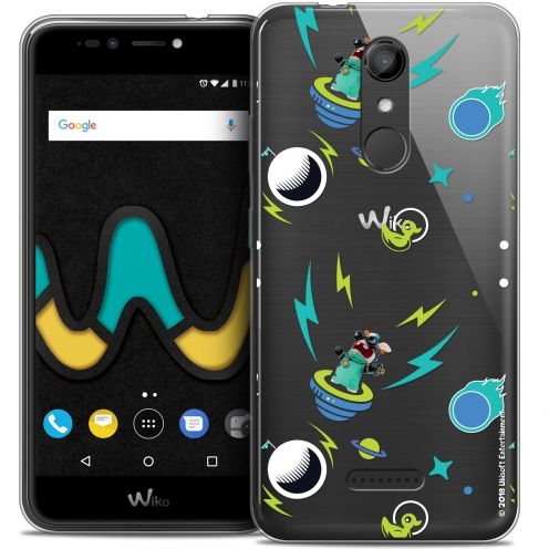 """Coque Gel Wiko U Pulse (5.5"""") Extra Fine Lapins Crétins™ - Space 1"""