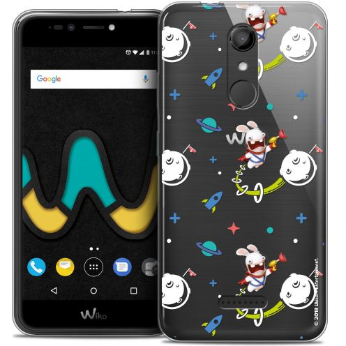 """Coque Gel Wiko U Pulse (5.5"""") Extra Fine Lapins Crétins™ - Space 2"""