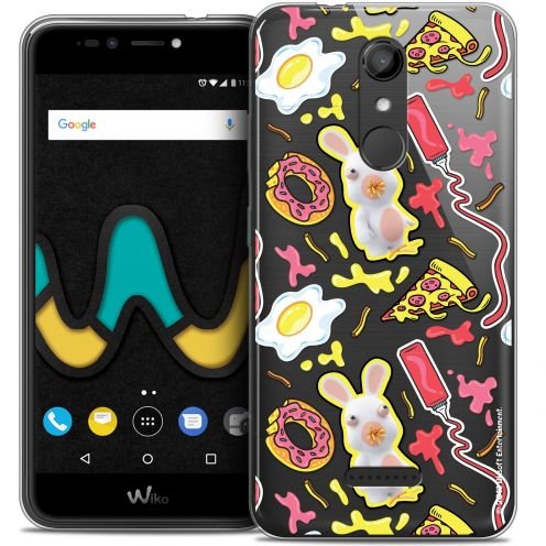 """Coque Gel Wiko U Pulse (5.5"""") Extra Fine Lapins Crétins™ - Egg Pattern"""