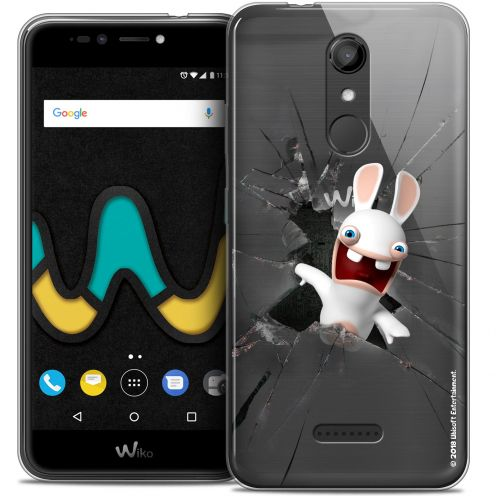 """Coque Gel Wiko U Pulse (5.5"""") Extra Fine Lapins Crétins™ - Breaking Glass"""