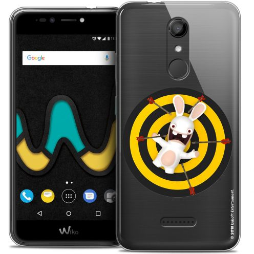 """Coque Gel Wiko U Pulse (5.5"""") Extra Fine Lapins Crétins™ - Target"""