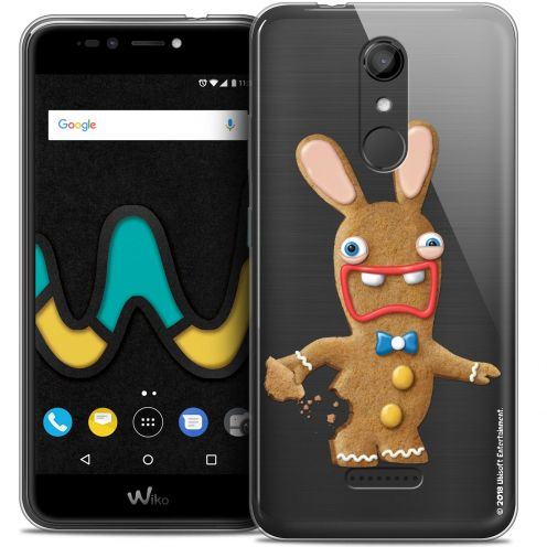"""Coque Gel Wiko U Pulse (5.5"""") Extra Fine Lapins Crétins™ - Cookie"""