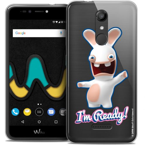 """Coque Gel Wiko U Pulse (5.5"""") Extra Fine Lapins Crétins™ - I'm Ready !"""