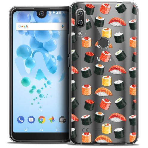 """Coque Crystal Gel Wiko View 2 PRO (6.0"""") Extra Fine Foodie - Sushi"""