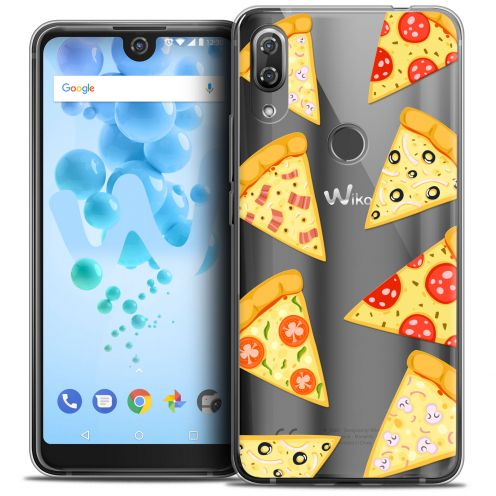"""Coque Crystal Gel Wiko View 2 PRO (6.0"""") Extra Fine Foodie - Pizza"""