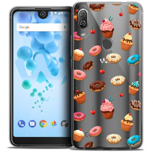 """Coque Crystal Gel Wiko View 2 PRO (6.0"""") Extra Fine Foodie - Donuts"""