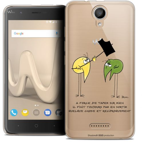 "Coque Gel Wiko Harry (5"") Extra Fine Les Shadoks® - A Force"