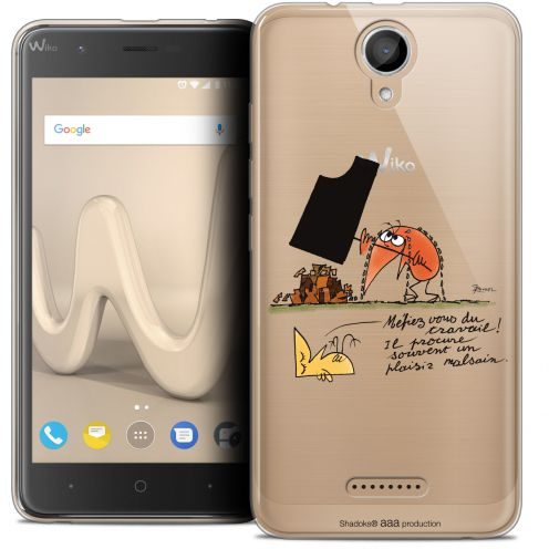 "Coque Gel Wiko Harry (5"") Extra Fine Les Shadoks® - Le Travail"