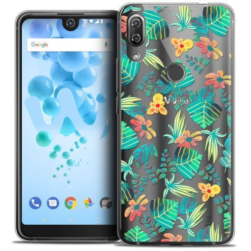 """Coque Crystal Gel Wiko View 2 PRO (6.0"""") Extra Fine Spring - Tropical"""