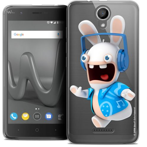 "Coque Gel Wiko Harry (5"") Extra Fine Lapins Crétins™ - Techno Lapin"