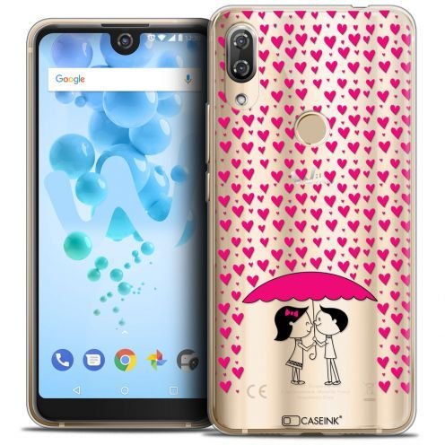 "Coque Crystal Gel Wiko View 2 PRO (6.0"") Extra Fine Love - Pluie d'Amour"