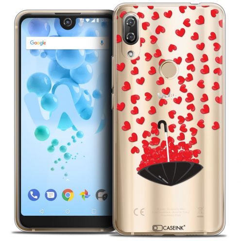 "Coque Crystal Gel Wiko View 2 PRO (6.0"") Extra Fine Love - Parapluie d'Amour"