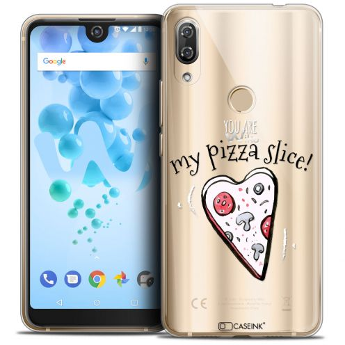 "Coque Crystal Gel Wiko View 2 PRO (6.0"") Extra Fine Love - My Pizza Slice"