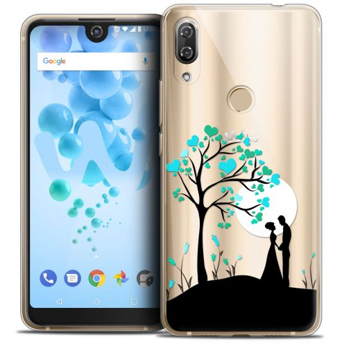"Coque Crystal Gel Wiko View 2 PRO (6.0"") Extra Fine Love - Sous l'arbre"