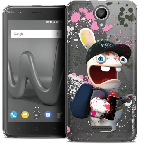 "Coque Gel Wiko Harry (5"") Extra Fine Lapins Crétins™ - Painter"