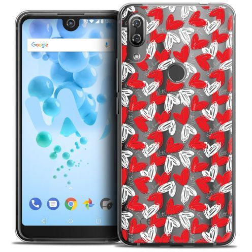 "Coque Crystal Gel Wiko View 2 PRO (6.0"") Extra Fine Love - With Love"